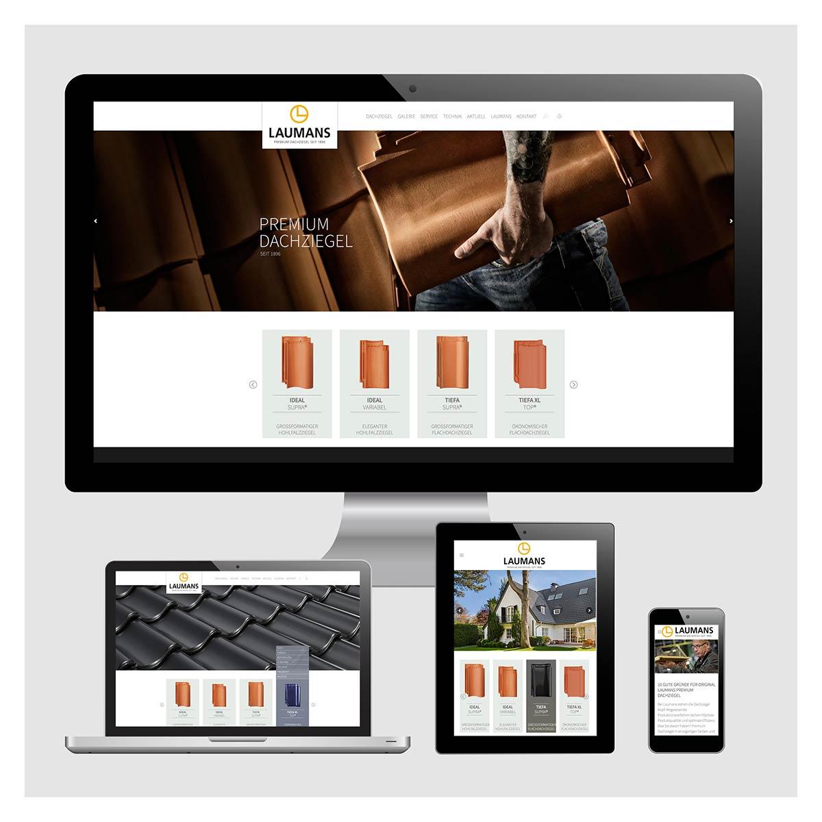 Internet, Homepage, Responsiv