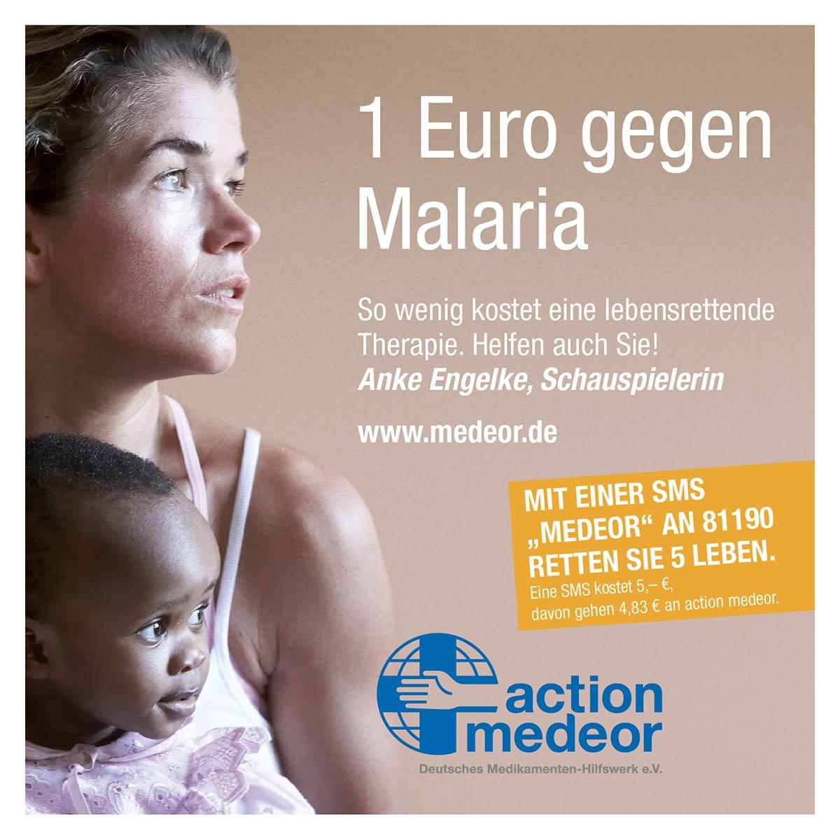 Anzeige für action medeor by Reiber Marketing - Krefeld