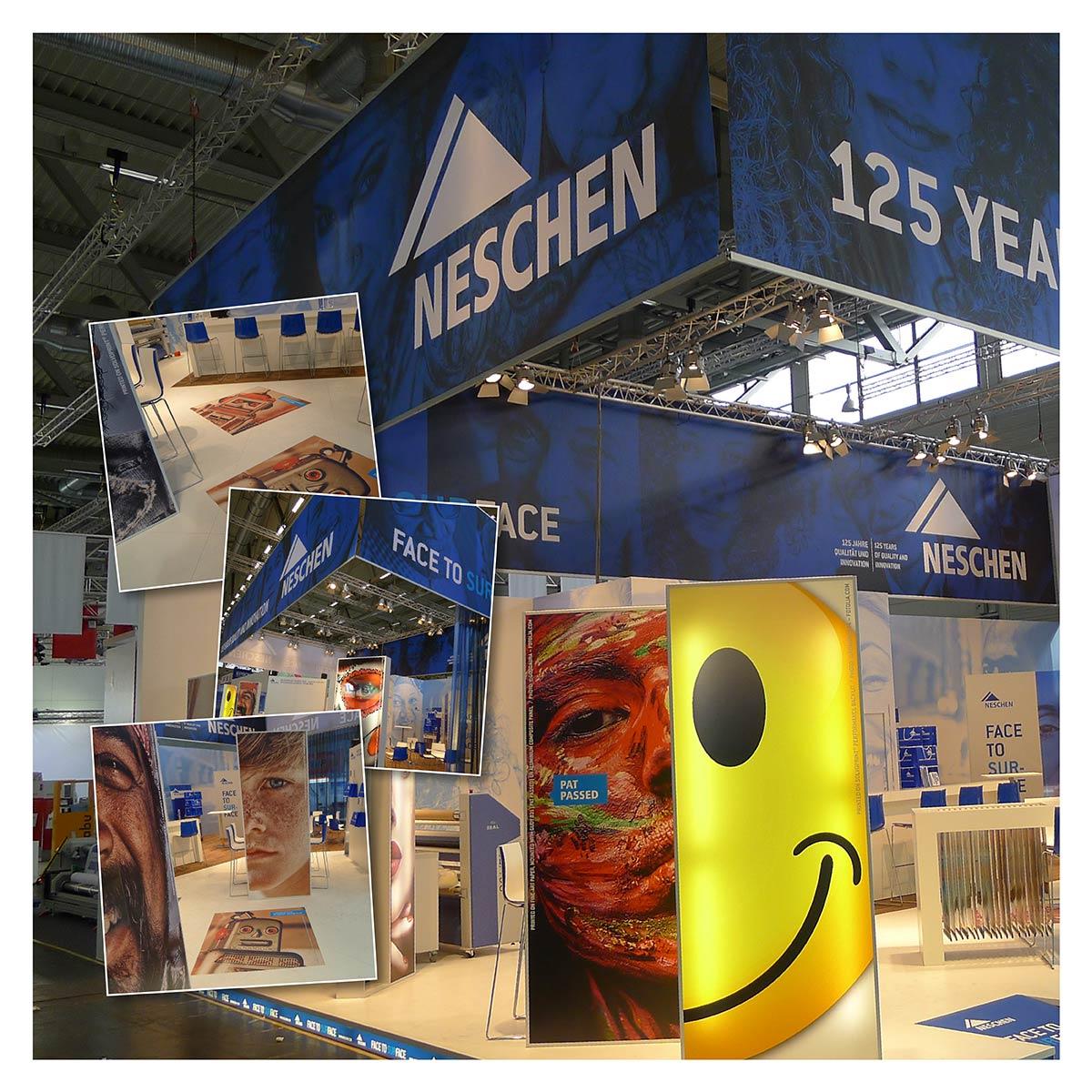 Messestand der Firma Neschen by Reiber Marketing