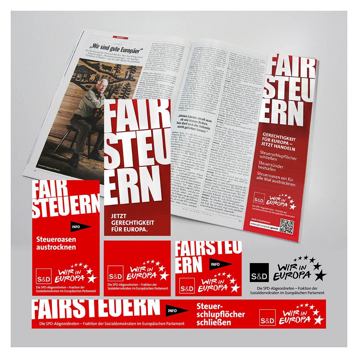 Anzeigen für S&D Europa von Werbeagentur aus Krefeld